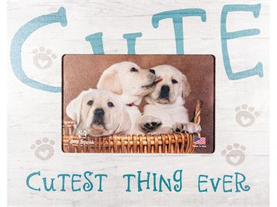 """Cutest Thing Ever7.5"""" x 9.5"""" Horizontal Picture Frame"""