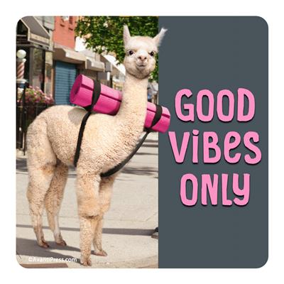 Good Vibes Only -  Coaster