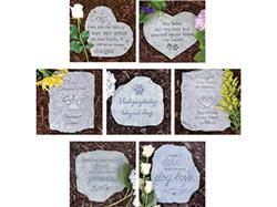 Memorial Stone Assortment includes 2 each of 6 Designs