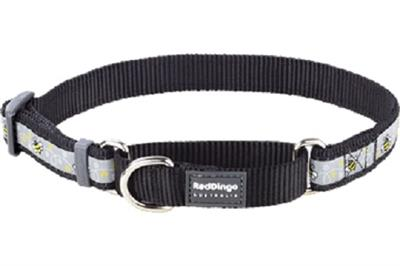 Bumble Bee Black - Martingale Collar