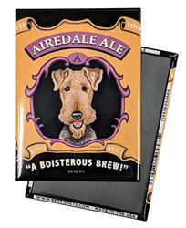 Airedale Terrier - Airedale Ale MAGNETS