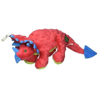 Large Dinos Frills with Chew Guard™ Technology - Red