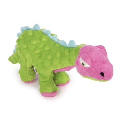 Small Dinos Spike with Chew Guard™ Technology - Green & Pink