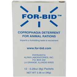 FOR-BID Stool-eating Preventative (12 packets) of Forbid
