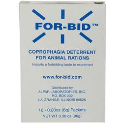FOR-BID Stool-Eating Preventative (12 packets) of Forbid