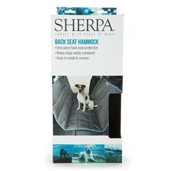 Sherpa® Car Back Seat Cover, Hammock Style, Gray