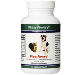 Flea Away for Cats & Dogs (100 Chewable Tablets)