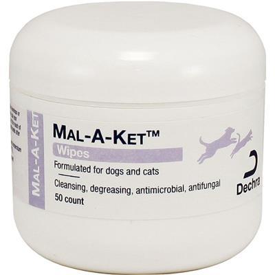 Dechra Mal-A-Ket Wipes by DermaPet (50 ct)