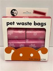 Lola Bean Pet Waste Bags - 8 Rolls - 160 Bags Total