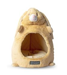 TAN BUNNY SHAPE CAT HUT