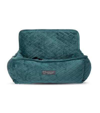 CAR SEAT QUILTED TEAL GREEN