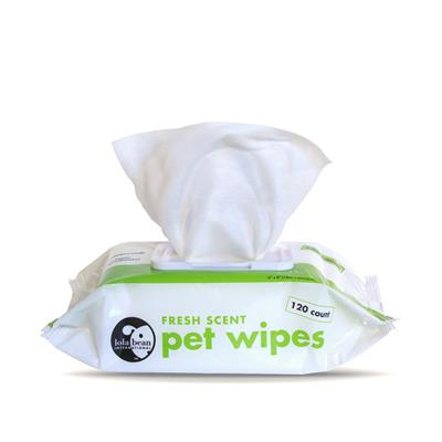 Lola Bean Pet Wipes 120 count