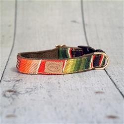 "1"" Red Sundance Serape Collars and Leads"