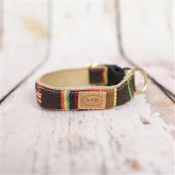 "1"" Brown Serape Stripe Collars and Leads"
