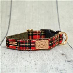 """1"""" Highland Plaid Collars and Leads"""