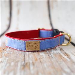 """1"""" Periwinkle Collars and Leads"""