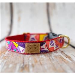 "1"" Summer African Print Collars and Leads"