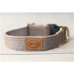 """1"""" Misty Grey Collars and Leads"""