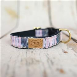 """1"""" Lavedner Ikat Collars and Leads"""