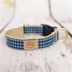 "1"" Classic Gingham Collars and Leads"