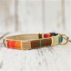 Sunset Serape Stripe Collars, Leads, and Harnesses