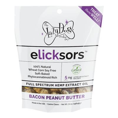 Elicksors Full Spectrum Hemp Chews by Lazy Dog