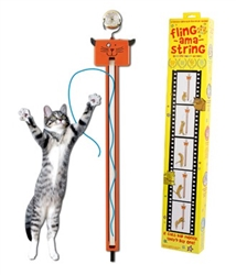 Fling-Ama-String™…if cats had money, they'd buy one!