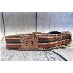 "1"" Sienna Stripe Collars and Leads"