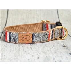 Heather Stripe Collars, Leads, and Harnesses