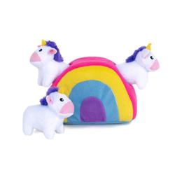 Zippy Paws - Zippy Paws Burrow Unicorns in Rainbow