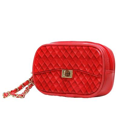 Zuzu Poop Bag Wristlet - Red