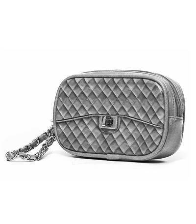 Zuzu Poop Bag Wristlet - Grey
