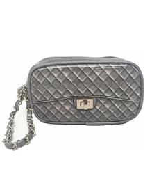Zuzu Poop Bag Wristlet - Grey