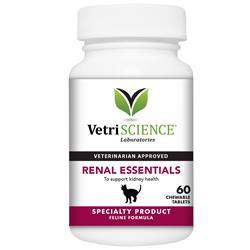 VetriScience Renal Essentials For Cats FISH FLAVOR (60 Tabs)