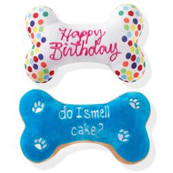 Birthday Bone Cookies Dog Toy