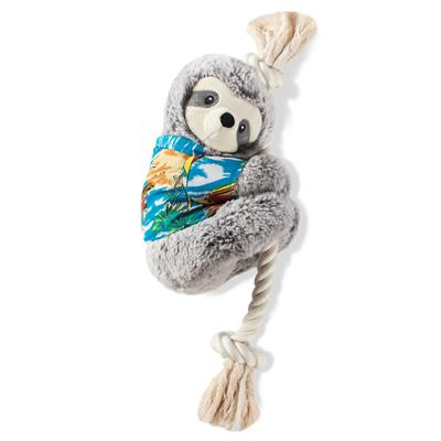 Slown' Down For Summer Sloth Dog Toy