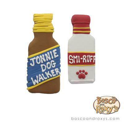 Woof It Down, Smi-Ruff & Jonnie Dow Walker, 10/Case, MSRP $5.99
