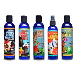 Mix & Match Cases of Organic Shampoo & Conditioner - 8oz bottles