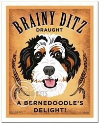 Brainy Ditz Draught - Bernedoodle