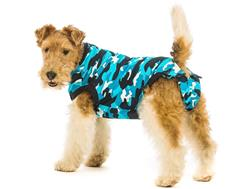 Suitical Recovery Suit for Dog- Post-Surgical Recovery suit-BLUE CAMO