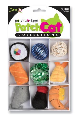 "PatchCat Sushi Box 7"""