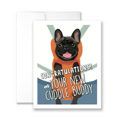 Congratulations on Your New Cuddle Buddy  - Pack of 6 cards