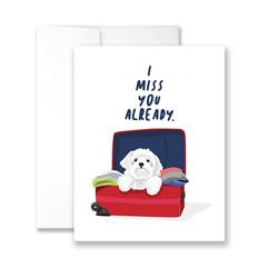 I Miss You Already - Pack of 6 cards