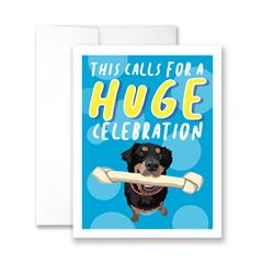 This Calls For a HUGE Celebration - Pack of 6 cards