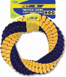 Twisted Chews-Giant Infinity Ring
