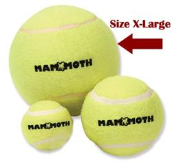Mammoth Pet Products Green Tennis Ball