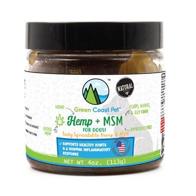Hemp + MSM Peanut Butter Flavored Paste