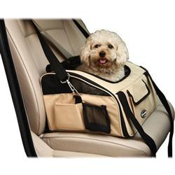 'Ultra-Lock' Collapsible Pet Travel Car Seat and Carrier by Pet Life®