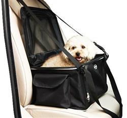 Lightweight Collapsible Pet Travel Car Seat and Carrier by Pet Life®
