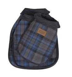 Crescent Lake Plaid Dog Coat